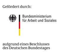 Funded by Federal Ministry of Labour and Social Affairs based on a decision of the German Federal Parliament, the German Bundestag